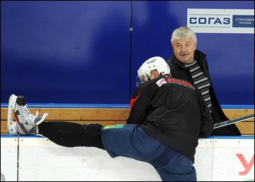 """Геннадий Величкин на тренировке """"Магнитки"""""""