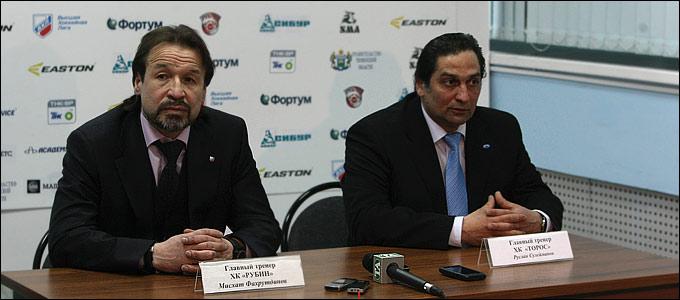 Мисхат Фахрутдинов и Руслан Сулейманов
