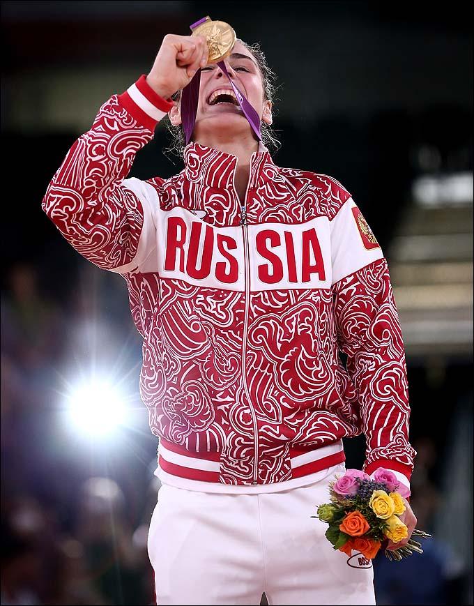 """Наталья Воробьёва: """"Вот она, вот она — медаль моей мечты!"""""""