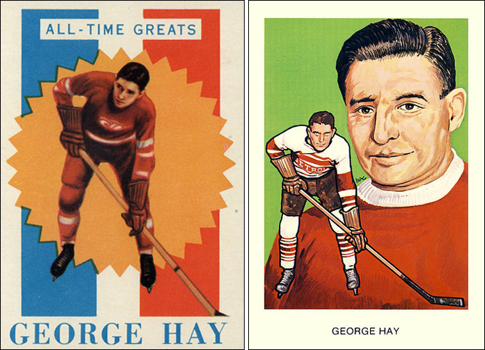 Уильям Джордж Хэй на открытках 20-х годов