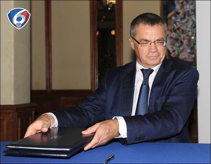Александр Медведев: КХЛ будет участвовать в Лиге чемпионов, если их идеи будут соответствовать нашим интересам