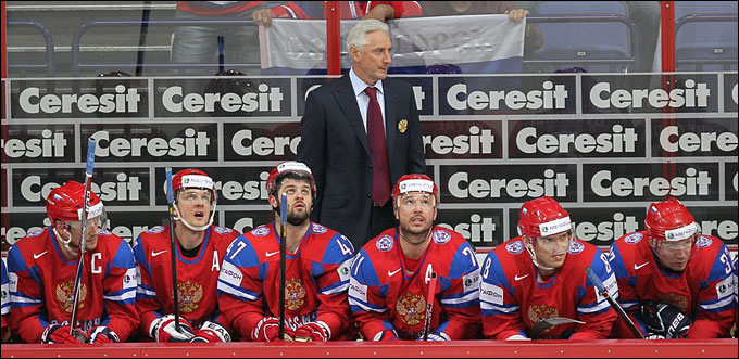 Зинэтула Билялетдинов и сборная России