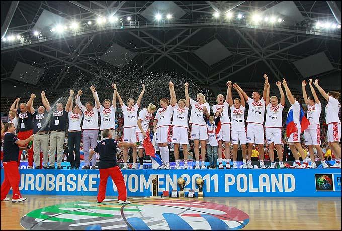 Женская сборная России – чемпионки Европы-2011