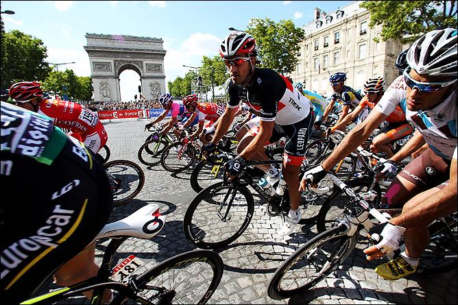 Велоспорт. Гонка Гран-тура Париж-Ницца. Франция