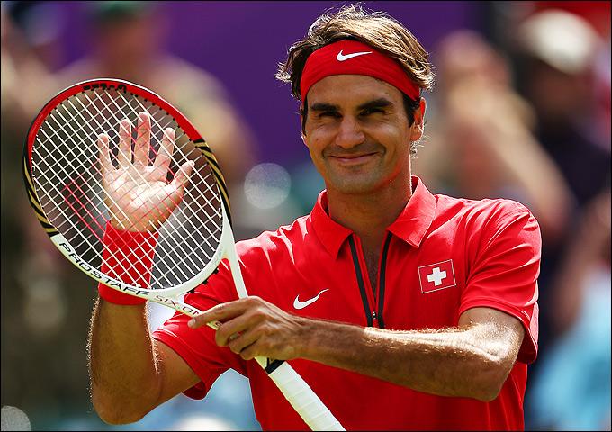 Лондон-2012. Теннис. Роджер Федерер