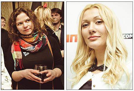 Лидия Фадеева и Армина Азарян