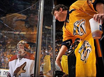 """3 мая 2012 года. Нэшвилл. Плей-офф НХЛ. 1/4 финала. """"Нэшвилл Предаторз"""" — """"Финикс Койотс"""" — 2:0"""
