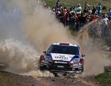 Евгений Новиков на Ралли Португалии WRC