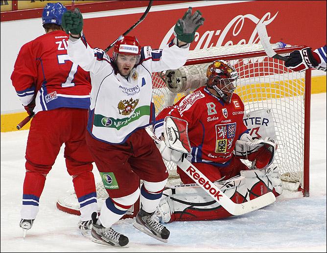 13 ноября 2011 года. Хельсинки. Кубок Карьяла. Чехия — Россия — 1:2