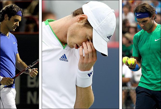 Федерер, Маррей и Надаль на троих выиграли в Монреале один матч