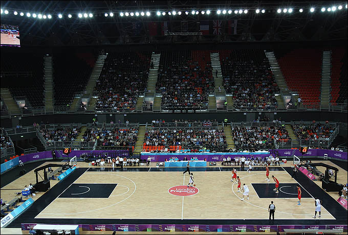 Basketball Arena примет большинство матчей олимпийского турнира