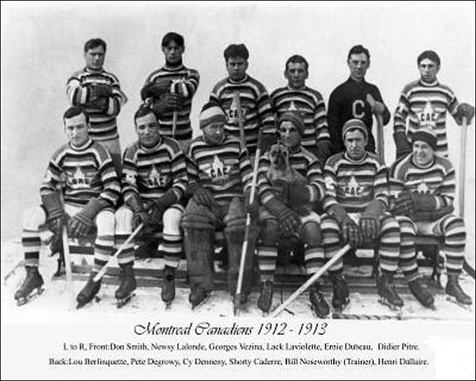 """Монреаль Канадиенс"" в сезоне 1912/13"