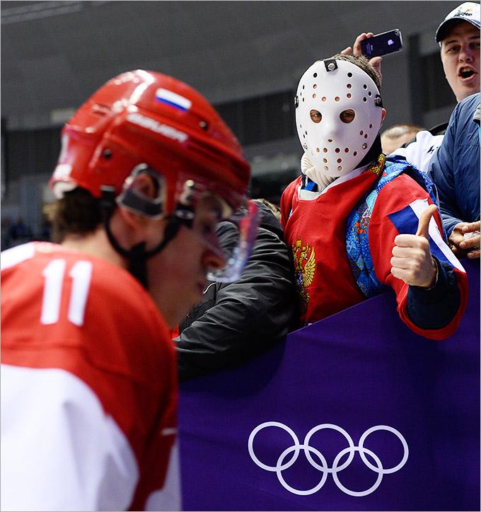 Сборная по хоккею