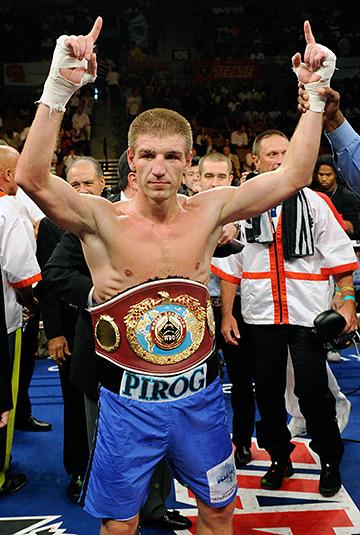 Дмитрий Пирог. Чемпион в среднем весе по версии WBO 2010-2012.