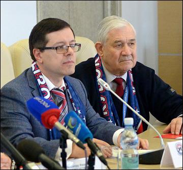 Дмитрий Ефимов и Владимир Юрзинов