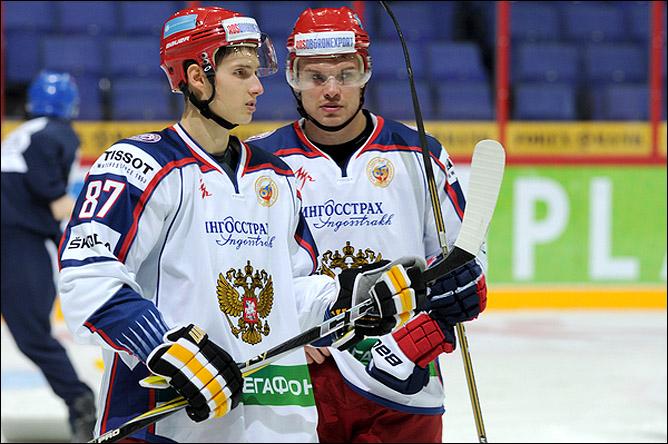 Вадим Шипачёв и Евгений Кузнецов