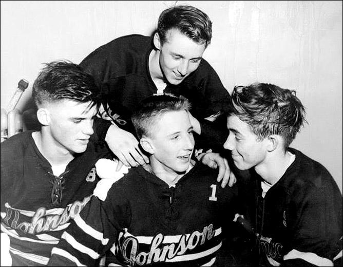 В молодости Херб Брукс (на снимке в центре) отличался субтильностью…