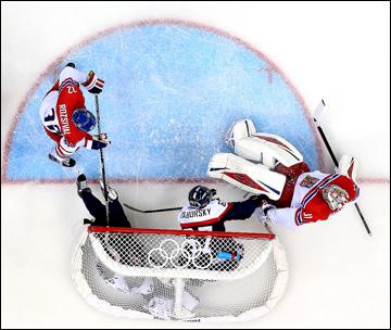 18 февраля 2014 года. Сочи. XXII зимние Олимпийские игры. Хоккей. Квалификация. Чехия — Словакия — 5:3