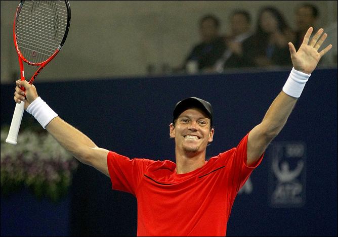 Чех Томаш Бердых второй год подряд успешно отобрался на итоговый турнир в Лондоне