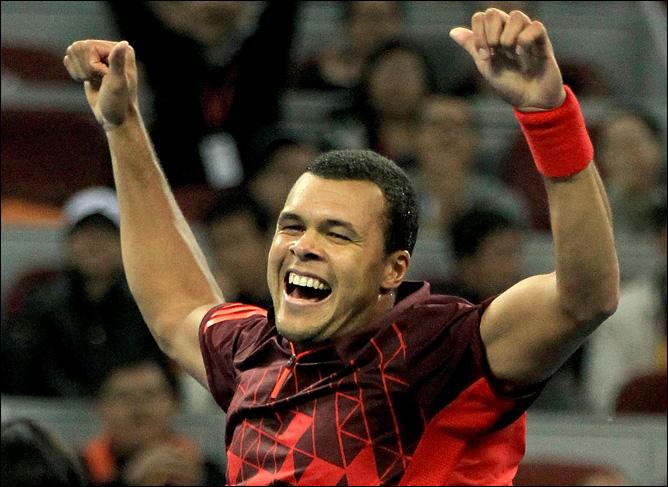 Француз Жо-Вилфрид Цонга набрал ход к чемпионату ATP
