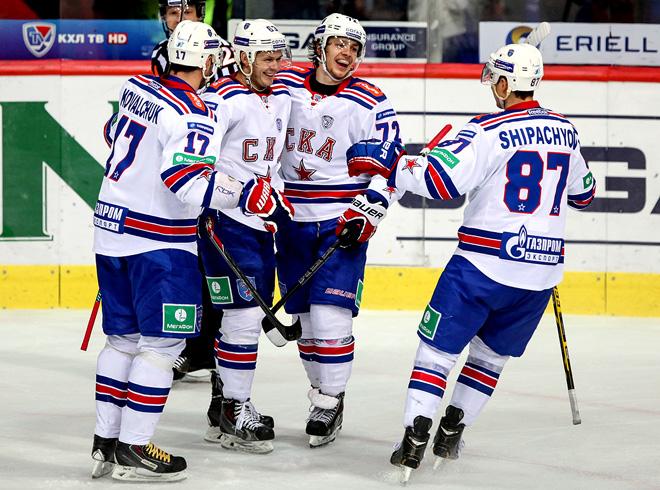 1 октября 2014 года. Загреб. Регулярный чемпионат КХЛ. «Медвешчак» — СКА