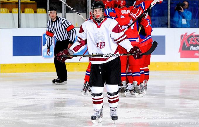 12 апреля 2012 года. Зноймо. Юниорский чемпионат мира. Латвия — Россия — 1:6