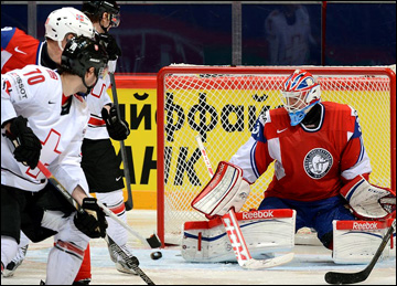 12 мая 2013 года. Стокгольм. Чемпионат мира. Групповой этап. Норвегия — Швейцария — 1:3