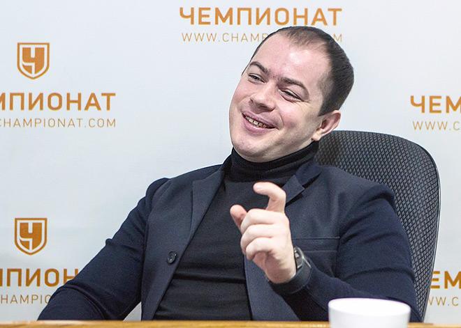 Роман Асхабадзе в гостях у «Чемпионата»