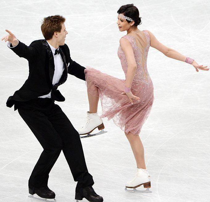Россияне Елена Ильиных и Никита Кацалапов — пятые после короткой программы в танцах на льду