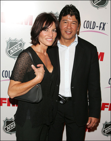 Тед Нолан с супругой