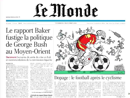 «Барселона» против Le Monde