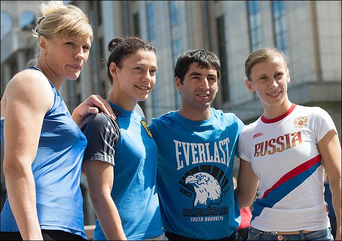 Олимпийская женская сборная России по боксу и Михаил Алоян