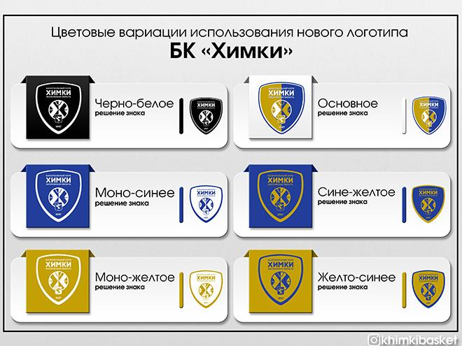 Новый логотип БК «Химки»