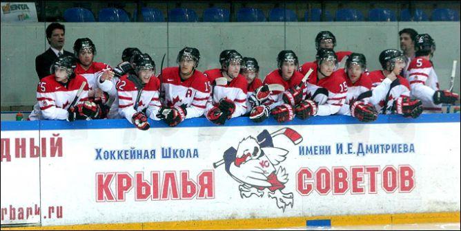 """13 апреля 2011 года. Сетунь. """"Красные Звезды"""" — """"Team Canada"""" — 9:2."""