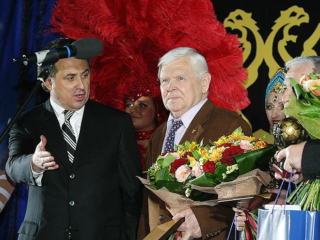 Анатолий Исаев и министр спорта Виталий Мутко