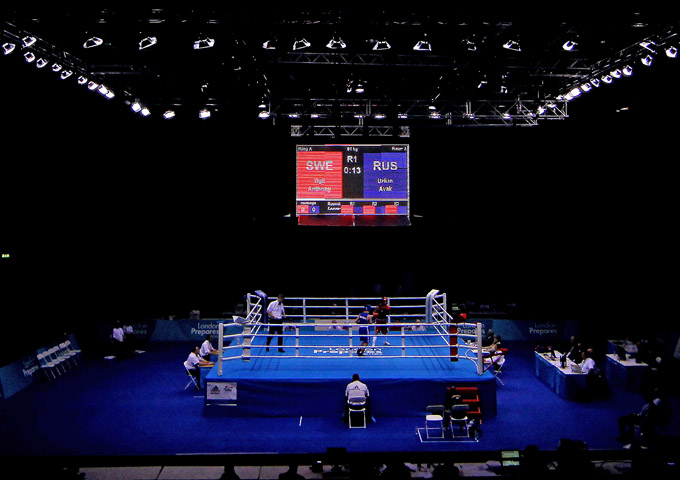 Поединки сильнейших боксёров планеты пройдут в выставочном центре ExCeL