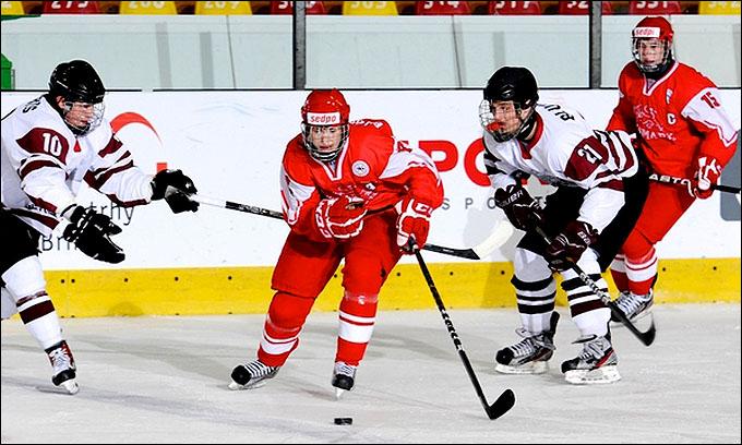 19 апреля 2012 года. Зноймо. Юниорский чемпионат мира. Утешительный турнир. Латвия — Дания — 3:4 (ОТ)
