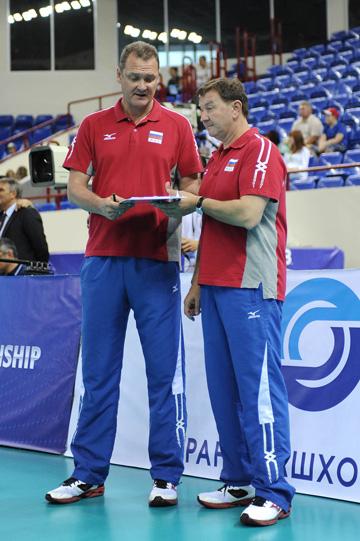 Андрей Воронков и Серджио Бузато