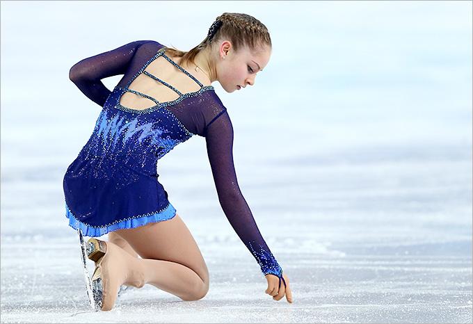 15-летняя Юлия Липницкая заставила рыдать зал.