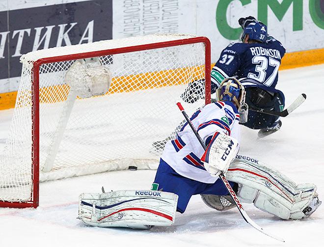 «Динамо» вырвало победу у СКА в овертайме