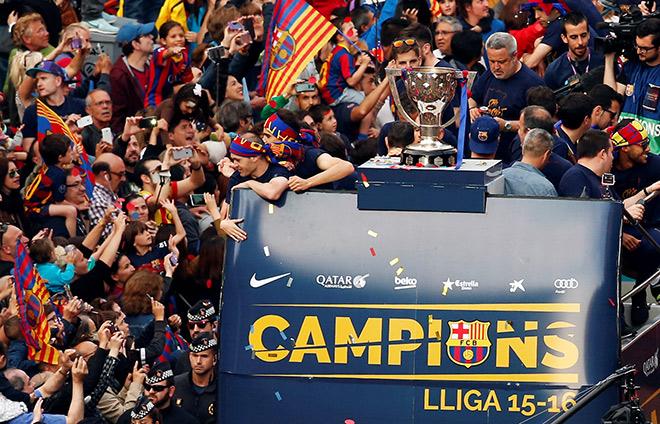 «Барселона» — чемпион!