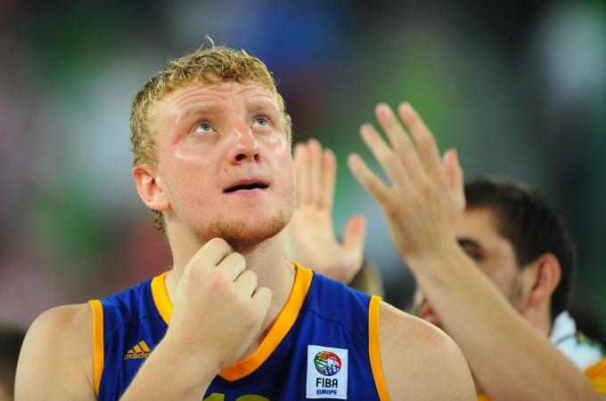 Кирилл Натяжко в форме сборной Украины