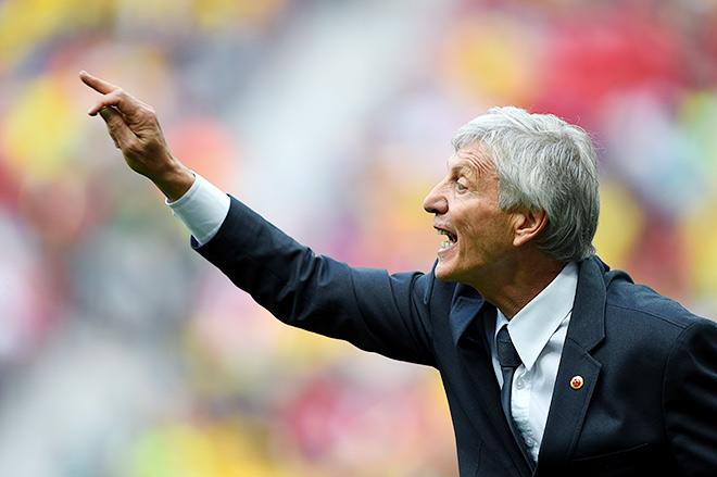Главный тренер сборной Колумбии Хосе Пекерман