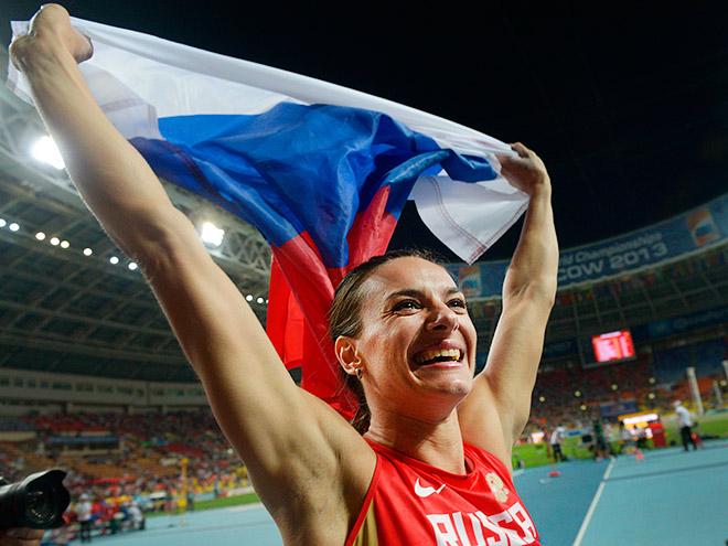 Елена Исинбаева — двукратная олимпийская чемпионка и обладательница бронзовой награды Игр в Лондоне