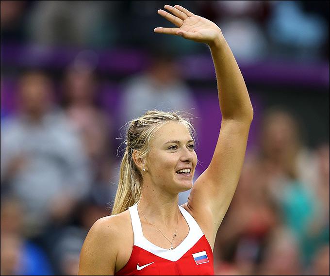 Лондон-2012. Теннис. Мария Шарапова