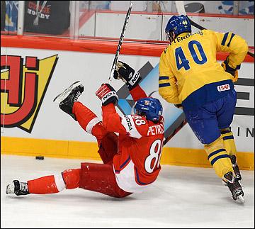 Якуб Петружалек против сборной Швеции