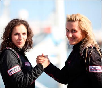 Болгарские гонщицы Екатерина Стратиева и Кармен Поэнару (Фото: Официальный сайт IRC)