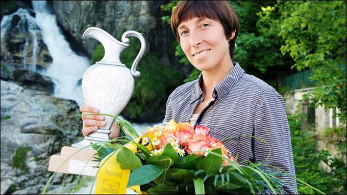 Ивонн Мойсбургер завоевала первый титул в карьере