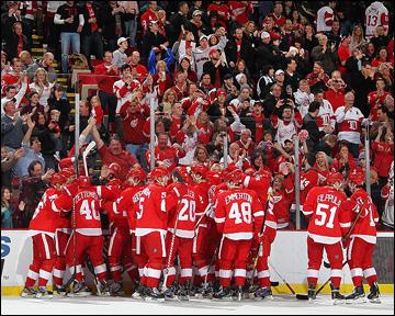 """Как дела, НХЛ? """"Детройт Ред Уингз"""""""