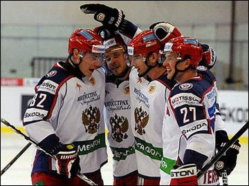 Сборная России на Чешских играх